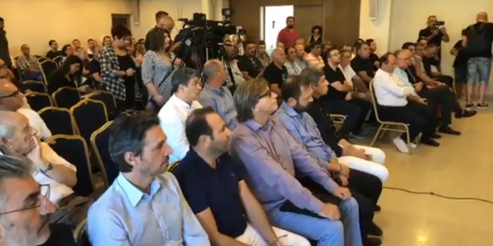 Ο δήμος Αλεξανδρούπολης την πιο δυνατή εκπροσώπηση στην σύσκεψη που έγινε σήμερα κατά των χρυσωρυχείων