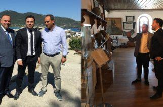 Ο Αντιπεριφερειάρχης Τουρισμού Θανάσης Τσώνης βρέθηκε στη Θάσο για τις επιπτώσεις πτώχευσης της Tmomas Cook και άλλα θέματα