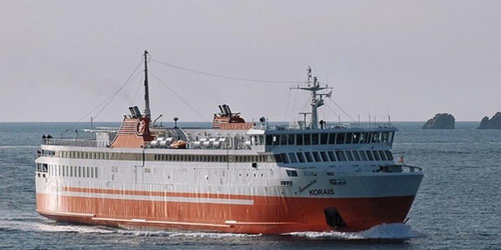 """Στο πλοίο """"Αδαμάντιος Κοραής"""" της Zante Ferries δόθηκε η άγονη γραμμή Σαμοθράκη-Αλεξανδρούπολη ως 31 Οκτωβρίου"""