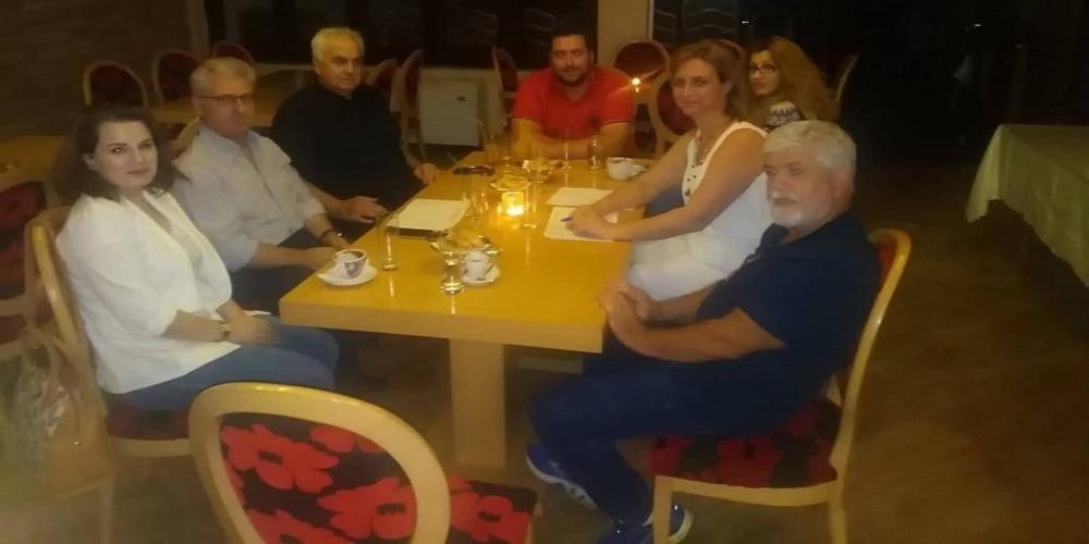 Συνάντηση Μ.Γκουγκουσκίδου με τους εκπαιδευτικούς για την… παραφωνία του 1ου Δημοτικού και τα προβλήματα της παιδείας