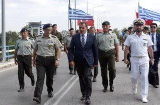 Παναγιωτόπουλος για τις ροές λαθρομεταναστών: «Θα σφραγίσουμε τον Έβρο»