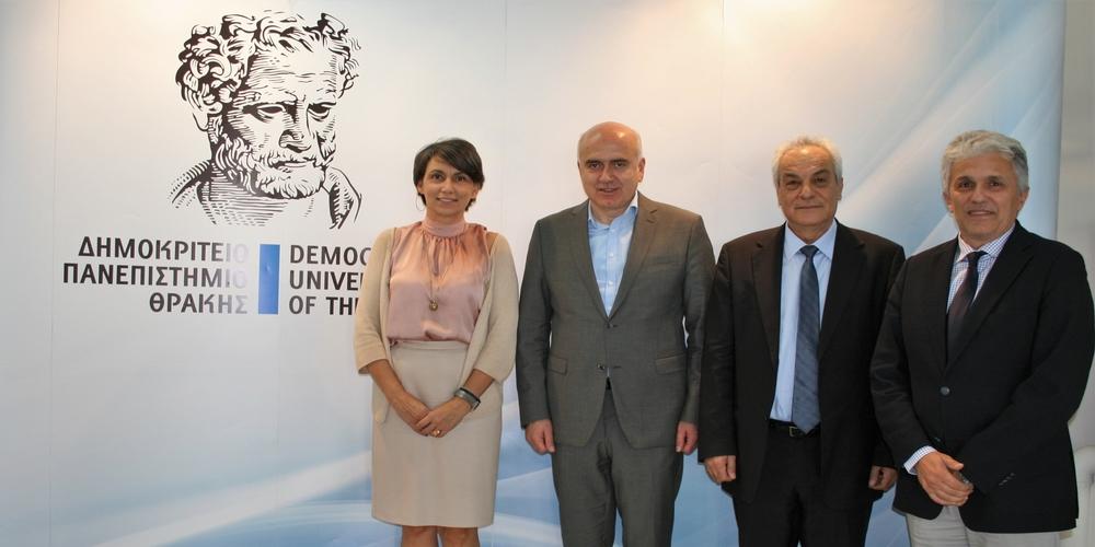 Δημοκρίτειο Πανεπιστήμιο Θράκης: Με υπογραφή Μέτιου 8,5 εκατομμύρια ευρώγιακαινούργιο εξοπλισμό