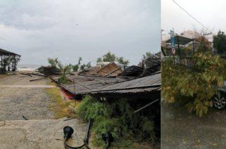 Αλεξανδρούπολη: Καταστροφές και μεγάλες ζημιές στο δημοτικό κάμπινγκ απ' την κακοκαιρία – Έσπασαν δέντρα (φωτορεπορτάζ)