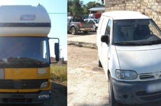 Κυπρίνος: Συνέλαβαν δυο διακινητές που μετέφεραν λαθρομετανάστες κρυμμένους σε φορτηγό