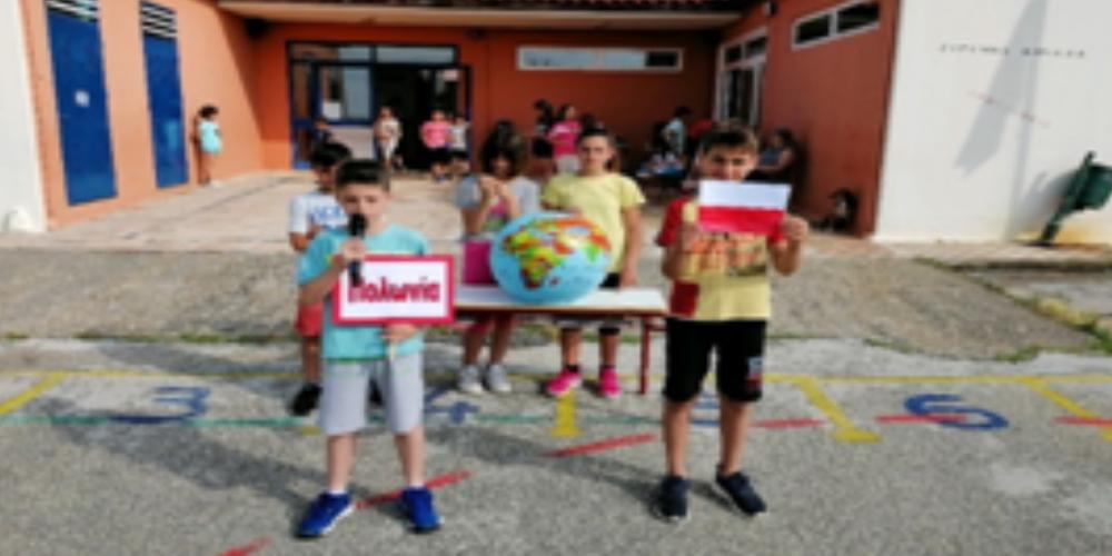 """Το Δημοτικό Σχολείο Παλαγίας γιόρτασε την """"Ημέρα Πολωνίας"""" με το πρόγραμμα Erasmus+"""