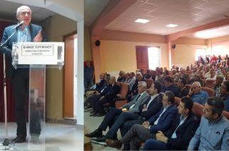 Πετυχημένη απόλυτα η ημερίδα για την υπογειοποίηση αρδευτικού δικτύου του κάμπου περιοχής Τυχερού