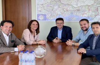 Αλεξανδρούπολη: Συνάντηση-συνεργασία του Αντιπεριφερειάρχη Δημήτρη Πέτροβιτς με την διοίκηση του Εμπορικού Συλλόγου
