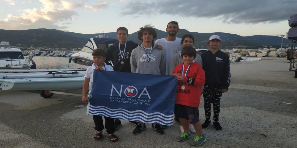 Επιτυχίες του ΝΟΑ στους διασυλλογικούς αγώνες που έγιναν στην Καβάλα