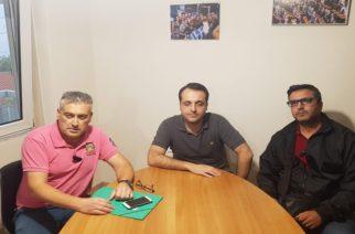 Συνάντηση της Ένωσης Συνοριακών Φρουρών με τους βουλευτές του Έβρου