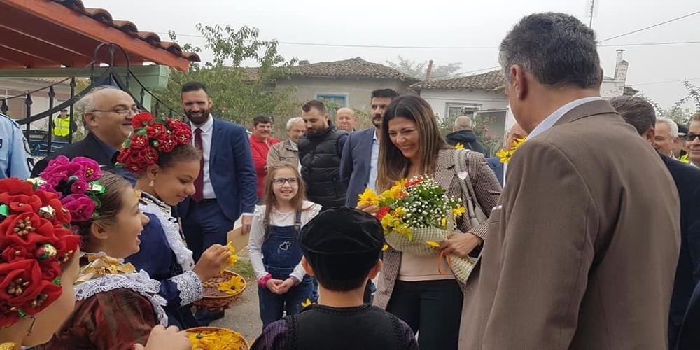 Σε Ορεστιάδα, Νέα Βύσσα, Διδυμότειχο, Κυπρίνο η υφυπουργός Παιδείας Σοφία Ζαχαράκη – Το θέμα του Τμήματος Νοσηλευτικής