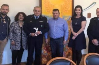 Σαμοθράκη: Επίσκεψη του Αστυνομικού Διευθυντή και συνάντηση-συζήτηση με το δήμαρχο Νίκο Γαλατούμο
