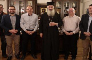 Τον Μητροπολίτη Αλεξανδρούπολης κ.Άνθιμο επισκέφθηκε το νέο Δ.Σ του Συλλόγου Ιεροψαλτών