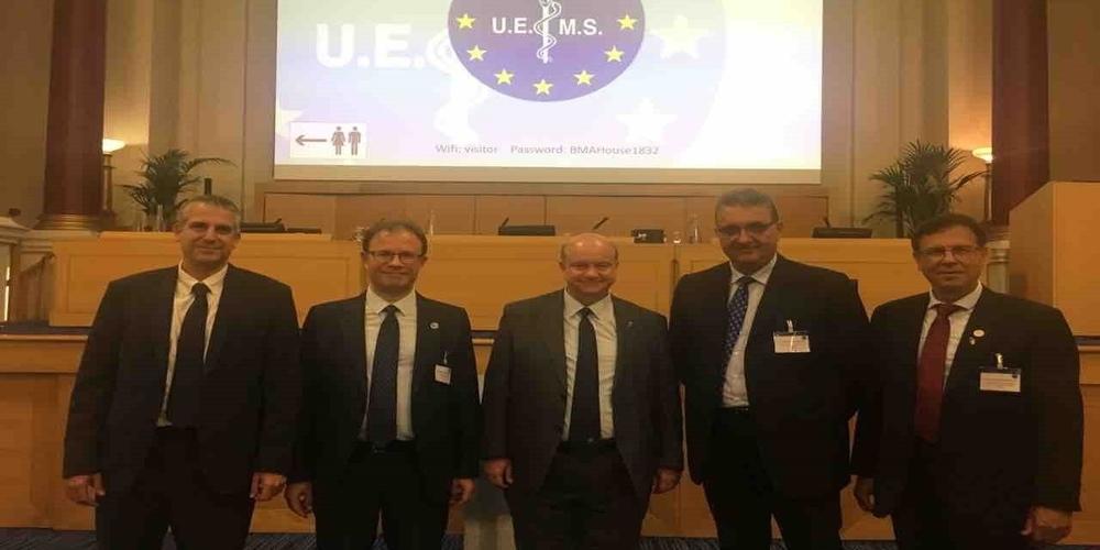 Αντιπρόεδρος στον ευρωπαϊκό οργανισμό UEMS εξελέγη ο Πρόεδρος του Ιατρικού Συλλόγου Έβρου Ανδρέας Παπανδρούδης