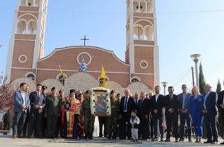 Ο εορτασμός του Αγίου Δημητρίου στον ομώνυμο Ιερό Ναό Καβύλης Ορεστιάδας