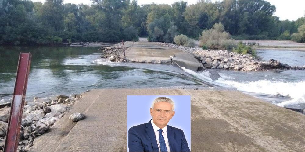 Δημοσχάκης: Επιτακτική η ανάγκη εργασιών αποκατάστασης της τσιμεντοδιάβασης στις Καστανιές – Επιστολή στα αρμόδια Υπουργεία
