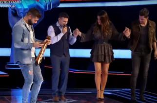 ΒΙΝΤΕΟ: Ο Αλεξανδρουπολίτης Γιάννης Τσαρσιταλίδης έβαλε Παπαρίζου, Ρουβά να χορέψoυν ποντιακά στο The Voice