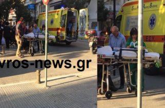 Αλεξανδρούπολη-ΤΩΡΑ: Τροχαίο με τραυματισμό οδηγού μοτοσυκλέτας στην 14ης Μαίου