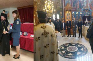 Οι Εβρίτισσες αστυνομικίνες Σαραντούλα Παγωνάκη και Δήμητρα Βαϊτσάκη βραβεύθηκαν για τις διακρίσεις τους