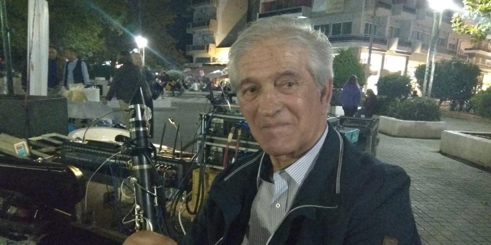 Νίκος Αλβανόπουλος: Μια ζωή με το κλαρίνο συντροφιά ο Εβρίτης οργανοπαίκτης