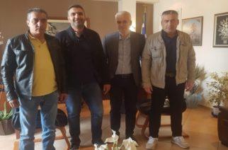 Συνάντηση των Συνοριοφυλάκων Έβρου μετον δήμαρχο Σουφλίου Παναγιώτη Καλακίκο