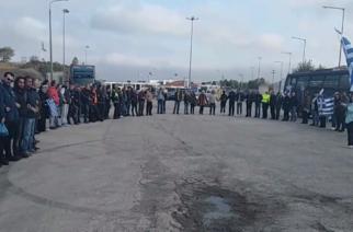 Συγκεντρώσεις στο τελωνείο Κήπων και την Αλεξανδρούπολη για τη λαθρομετανάστευση, με λίγο κόσμο