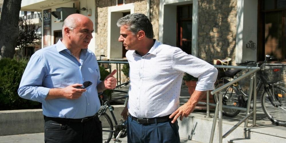 Είναι δυνατόν; Την υποψηφιότητα Μαυρίδη για Πρόεδρος στην ΠΕΔ ΑΜ-Θ, στηρίζει ο Περιφερειάρχης Χρήστος Μέτιος!!!
