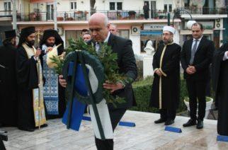 Στο Διδυμότειχο για την Ημέρα των Ενόπλων Δυνάμεων βρέθηκε ο Περιφερειάρχης ΑΜ-Θ Χρήστος Μέτιος