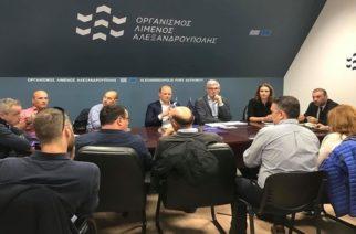 Υπεργολάβοι και συνεργάτες της Gastrade για τον σταθμό LNG, επισκέφθηκαν το λιμάνι Αλεξανδρούπολης