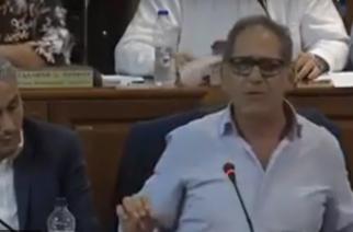 ΒΙΝΤΕΟ: Να αγιάσει το στόμα του Αντιπεριφερειάρχη Βορείου Αιγαίου, που μίλησε παλικαρίσια για… λαθρομετανάστες