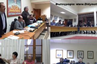 Το ΒΙΝΤΕΟ με το χαμό, τις βρισιές και το παραλίγο ξύλο στο δημοτικό συμβούλιο Διδυμοτείχου