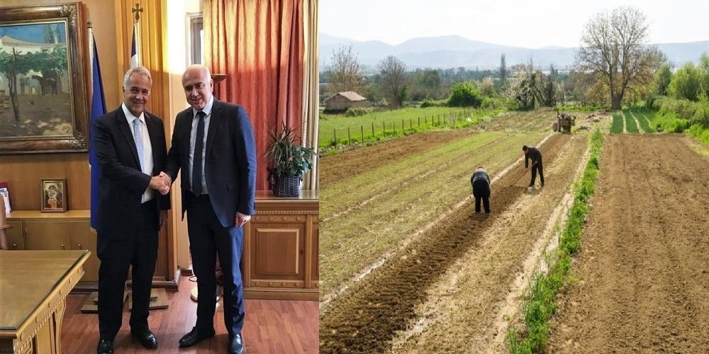 Αύξηση 3,1 εκατ. ευρώτων πιστώσεων για μικρούς καλλιεργητές στην Περιφέρεια ΑΜ-Θ με παρέμβαση Μέτιου