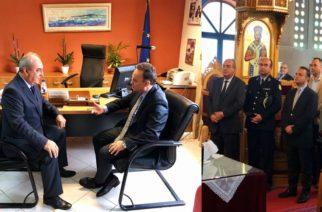 Επίσκεψη στην Δημοτική Ενότητα Φερών από τον βουλευτή Σταύρο Κελέτση