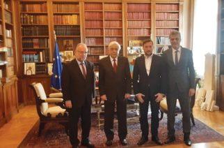 Όλη την πολιτική ηγεσία για το θέμα του χρυσού ενημέρωσε αντιπροσωπεία αυτοδιοικητικών της Θράκης