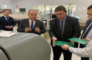 Σημαντικές, δυναμικά αναπτυσσόμενες επιχειρήσεις του Έβρου, επισκέφθηκε ο Υφυπουργός Ανάπτυξης και Επενδύσεων Νίκος Παπαθανάσης