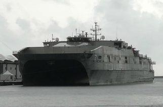 """Αυτό είναι το αμερικανικό πολεμικό πλοίο """"Carson City"""", που θα καταπλεύσει αύριο στο λιμάνι Αλεξανδρούπολης"""