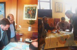 Συνάντηση του Δημάρχου Αλεξανδρούπολης Γ.Ζαμπούκη, με τον Πρόεδρο και τον Διευθύνοντα Σύμβουλο του Ο.Λ.Α.