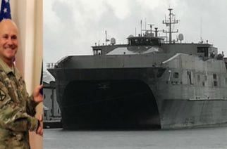 """Αλεξανδρούπολη: Έρχεται και ο Διοικητής των Αμερικανικών Δυνάμεων στην Ευρώπη, μετά το πολεμικό πλοίο """"USNS Carson City"""""""