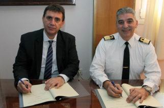 """Υπογραφή μνημονίου συνεργασίας της Εβρίτικης εταιρείας """"Πρίσμα Ηλεκτρονικά"""" με το Πολεμικό Ναυτικό"""