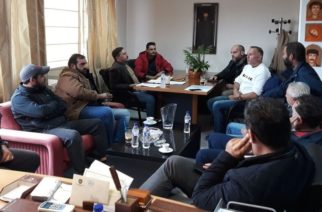 Συνάντηση και διεξοδική συζήτηση του δημάρχου Αλεξανδρούπολης Γιάννη Ζαμπούκη με τη διοίκηση τουΑγροκτηνοτροφικού Συλλόγου