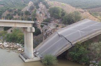 Η πεσμένη γέφυρα Κομψάτου θα απασχολήσει το Περιφερειακό Συμβούλιο ΑΜ-Θ