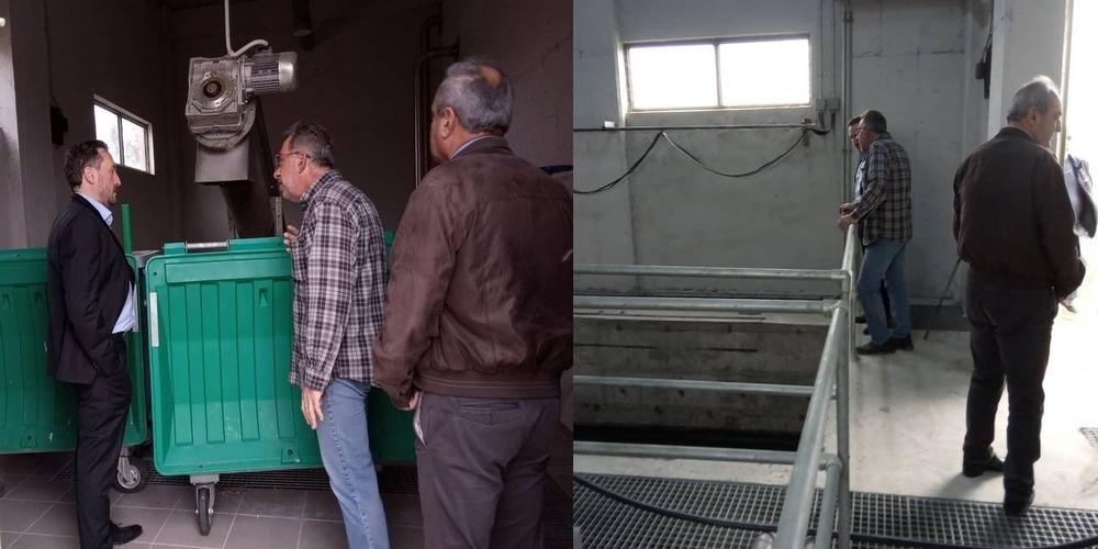 Επίσκεψητου Δημάρχου Αλεξανδρούπολης Γιάννη Ζαμπούκη στον Βιολογικό Φερών – Ενημέρωση και αποφάσεις