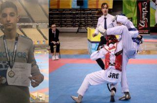 Χρυσό μετάλλιο στο Πανελλήνιο Πρωτάθλημα  Τάε κβο ντο ο Εβρίτης Μιχάλης Βαϊλεζούδης