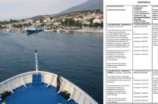 Βγήκε ο διαγωνισμός για την ακτοπλοϊκή σύνδεση Σαμοθράκης με Αλεξανδρούπολη και Λήμνο – Ποια εταιρεία έχει πλεονέκτημα