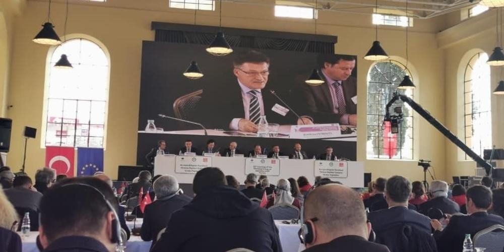 Αδριανούπολη: Δίκτυο Διασυνοριακής Συνεργασίας Ελλάδας-Βουλγαριας-Τουρκίας με έδρα την Ορεστιάδα πρότεινε ο Πέτροβιτς