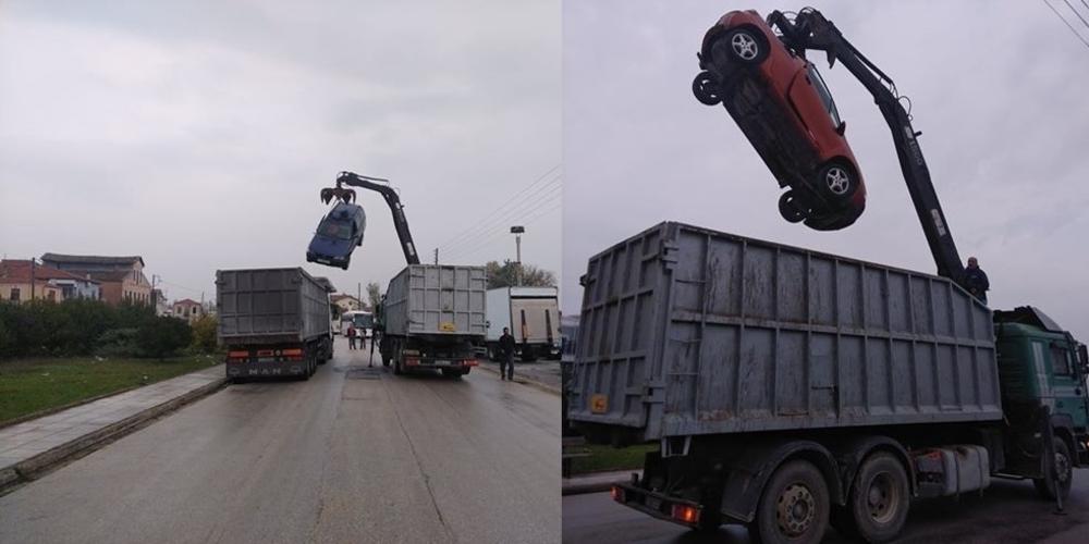 Σουφλί: Ξεκίνησε τον καθαρισμό της πόλης απ' τα εγκαταλελειμμένα αυτοκίνητα η δημοτική αρχή Καλακίκου (φωτορεπορτάζ)