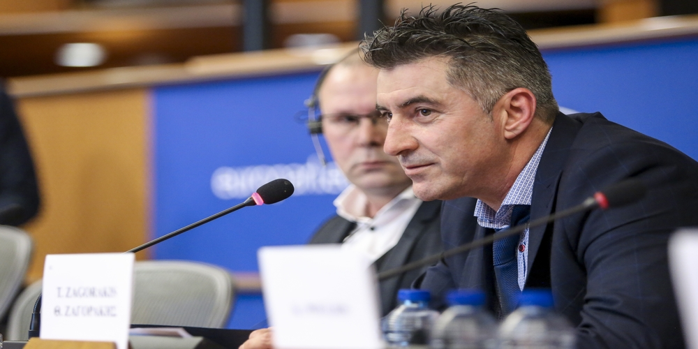 The employment rights of athletes in Europe. The Bosman case and the new challenges for European football - In presence of the Greek national football team  of 2004, representatives of the International Federation of Football Players (FIFPro)