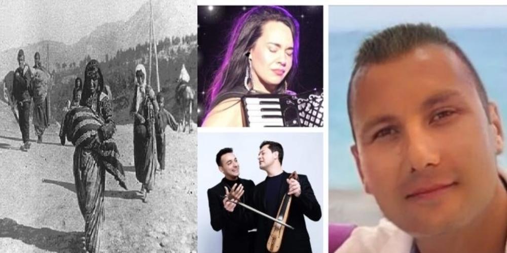 """Το τραγούδι """"Γενοκτονία"""" των Εβριτών δημιουργών Ζωής Τηγανούρια και Πασχάλη Μπούρα, παρουσίασε ο Νίκος Χατζηνικολάου"""