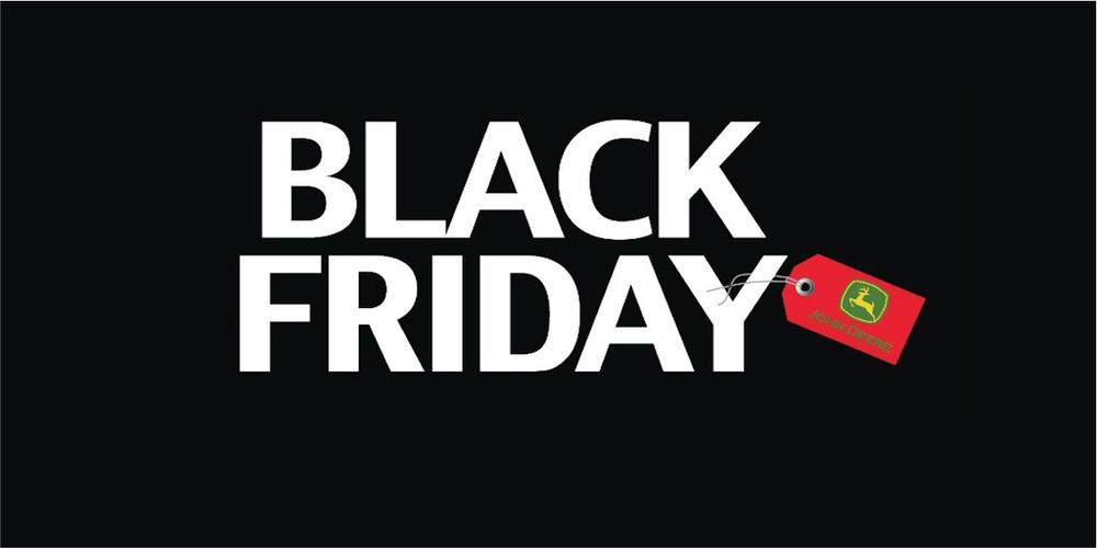 BlackFriday από την Agrotech S.A.-John Deere Greece με εκπτώσεις που δεν πρέπει να χάσετε