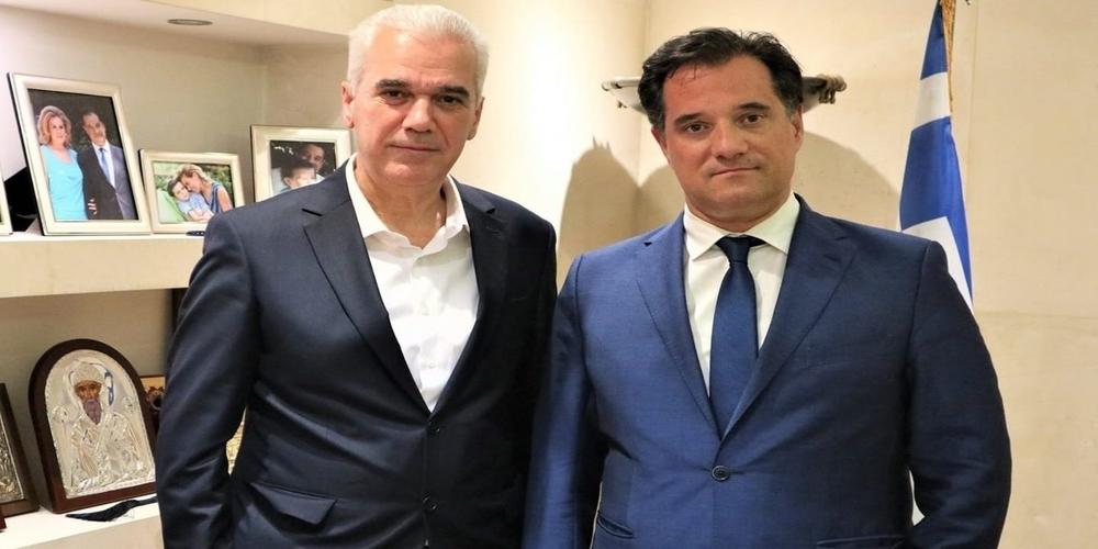 Σουφλί: Συνάντηση με τον Άδωνι Γεωργιάδη για αποχέτευση και βιολογικό Τυχερού, είχε ο δήμαρχος Παναγιώτης Καλακίκος