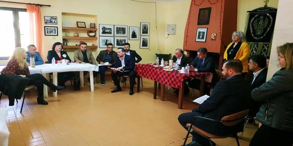 Επίσκεψη, συνάντηση και συζήτηση με τους κατοίκους της Παλαγίας είχε ο δήμαρχος Γιάννης Ζαμπούκης